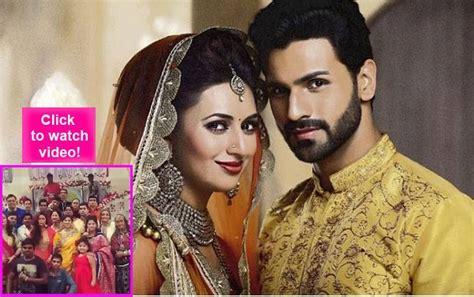 film india kavach hey divyanka and vivek here s mona singh and kavach team