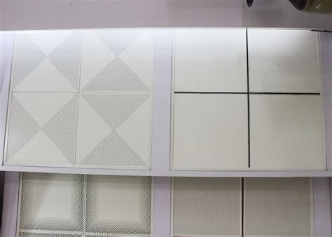 Standard Ceiling Tile by Plain And Standard Perforation Lay In Ceiling Tiles