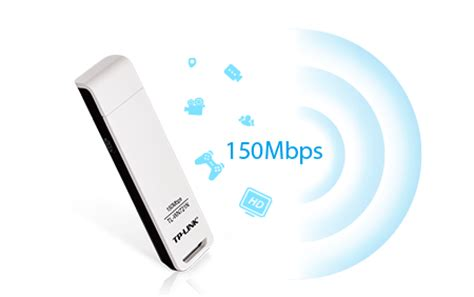 150mbps Wireless N Usb Adapter Tl Wn721n tp link tl wn721n 150mbps 2 4ghz wireless n usb adapter white and black buy