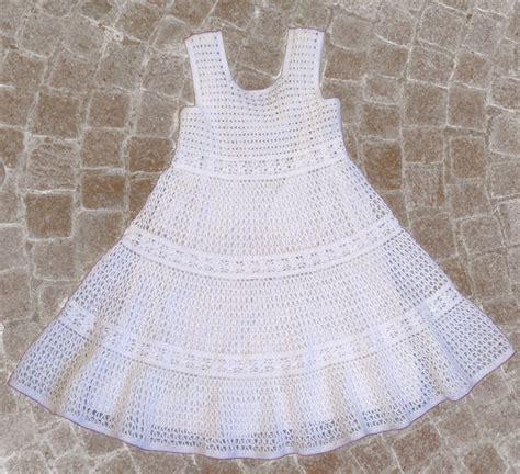 crochet pattern little white dress 178 best crochet little girl dress images on pinterest