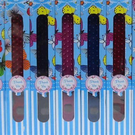 souvenir sisir rambut box kertas motif pusaka dunia
