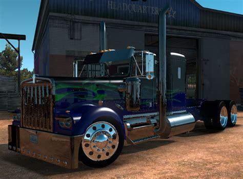 custom kenworth trucks ats kenworth w900a custom truck simulator mods