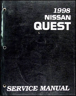 auto repair manual online 1998 nissan quest electronic valve timing 1998 nissan quest van shop repair manual original 98 ebay