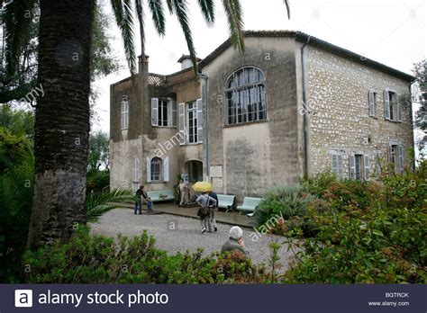 renoir house the garden and house at the renoir museum cagnes sur mer alpes stock photo royalty