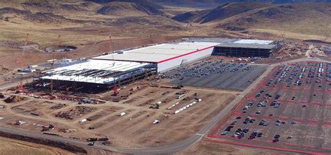 Tesla Giga Factory Tesla Gigafactory Electrek