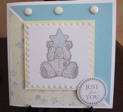 Handmade Teddy Cards - 42 best images about tatty teddy cards on