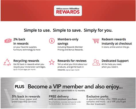 depot perks office depot announces new loyalty program