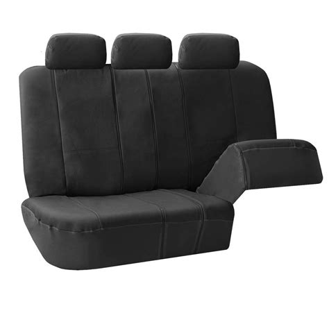 suv seat covers 3 row faux leather car seat covers airbag safety for
