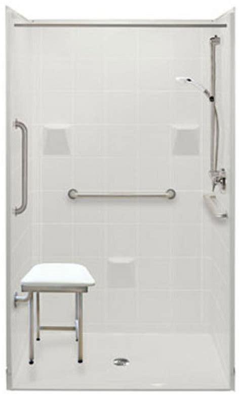 Shower Platform For Wheelchair Access wheelchair accessible bathroom handicap accessible roll in shower ada bathroom