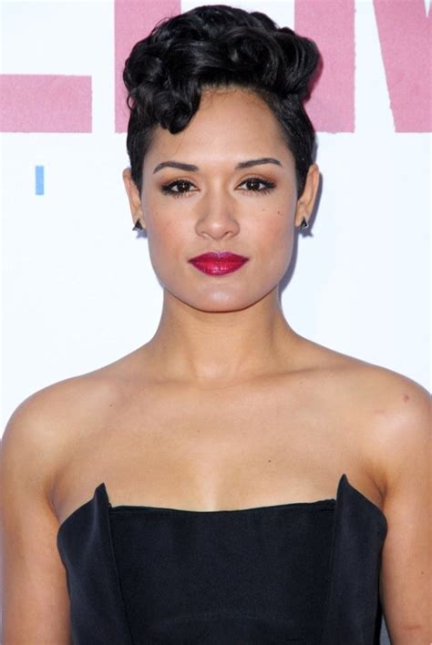 empire stars with short hair mane attraction 8 times grace gealey s short do has