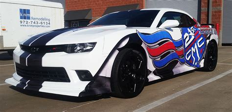 Paint For Office Camaro Vehicle Wrap Front
