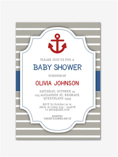baby shower invitation template microsoft word items similar to editable microsoft word baby shower