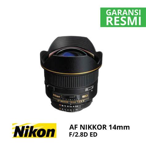 Nikon 14mm F 2 8d Ed Af jual nikon af 14mm f 2 8d ed harga dan spesifikasi