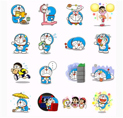 Wallpaper Doraemon Wallpapersticker Doraemon Stiker Doraemon doraemon free printable stickers