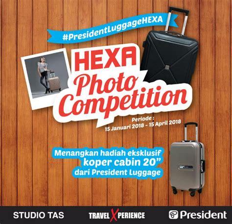 Promo Tag Koper Luggage Tag hexa photo competition