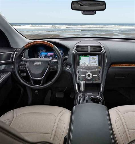 2018 Ford Explorer Interior by 2018 Ford 174 Explorer Suv Photos Colors 360