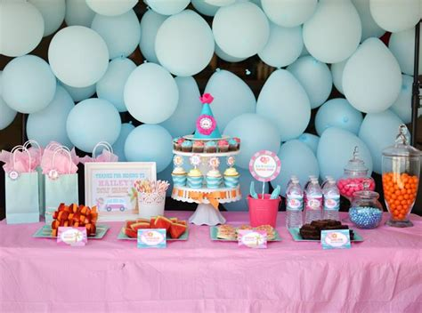 themes for 13th girl birthday parties kara s party ideas surfer girl birthday party eighth