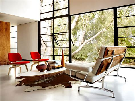 lounge chair living room miller contemporary wooden eames molded plywood lounge chair with wood base