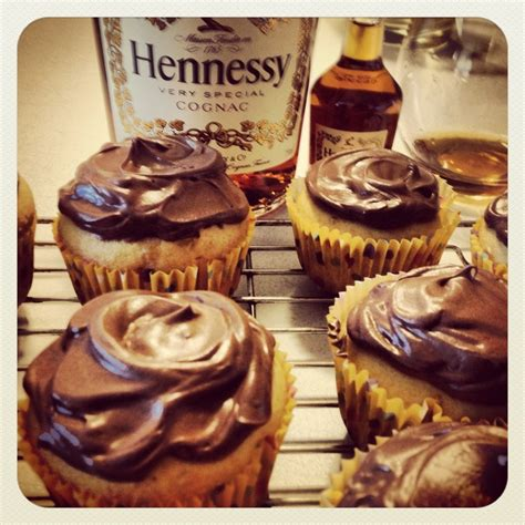hennessy flavored cupcakes anyone desserts