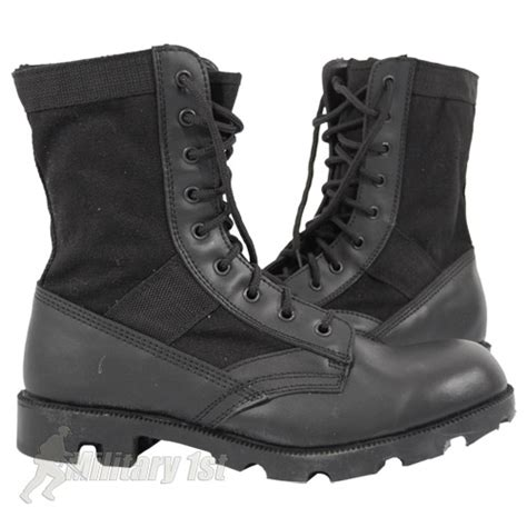 s jungle boots us army combat assault jungle boots black 5 13 ebay