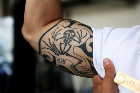 navy tribal tattoos frog bone tribute to the history of the united