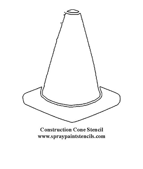 Coloring Pages Of Cones free coloring pages of traffic cone