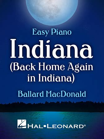 indiana back home again in indiana sheet direct