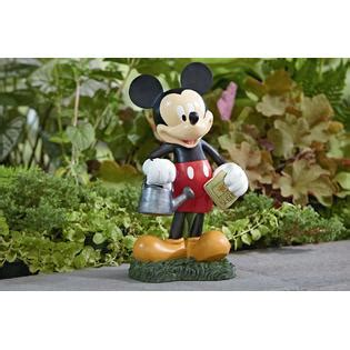 Mickey Mouse Garden Decor Disney Mickey Mouse Statue Outdoor Living Outdoor Decor Lawn Ornaments Statues
