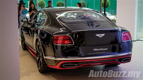 bentley price 2017 bentley continental gt speed black speed in malaysia 1