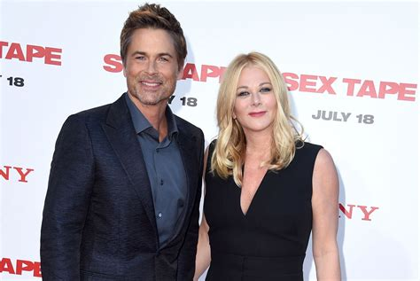 rob married rob lowe sobered up to stop page six