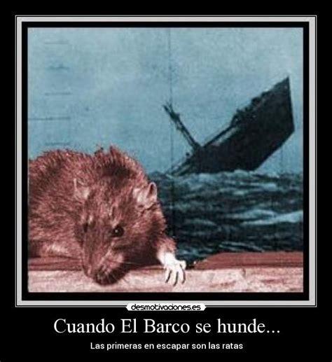xq un barco no se hunde clarin el barco se hunde las ratas se escapan taringa
