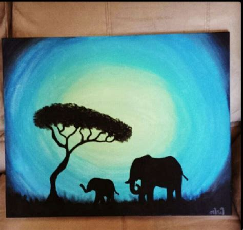 painting elephant elephant painting class search chang