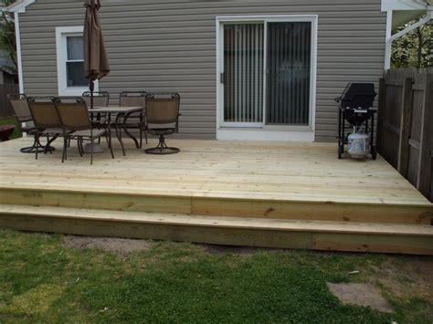 modern elegant backyard deck ideas ground level there are