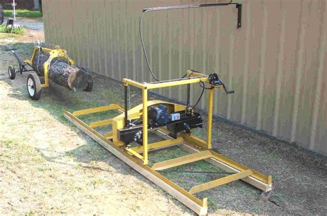bandsaw sawmill plan 70 free portable bandsaw mill plans