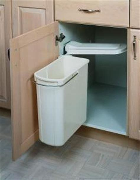 Sink Trash Can With Lid by Pivot Out Trash Can 20 Quart 8 700411 20