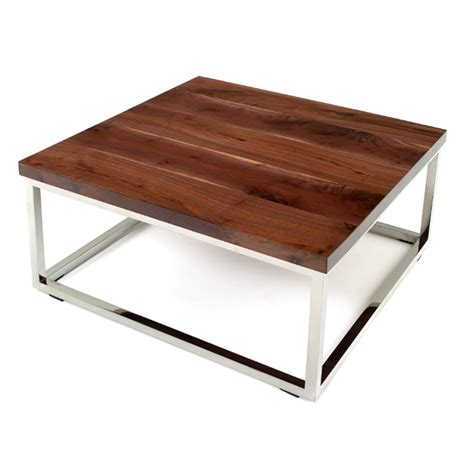 Rustic Contemporary Coffee Table Rustic Contemporary Chrome Base Coffee Table Wc Misc 8