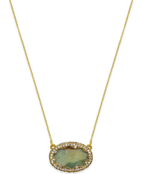 house of harlow 1960 gold tone jasper and pav 233 oval