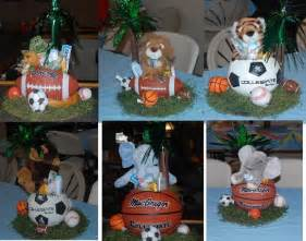 sports baby shower centerpieces discover and save creative ideas