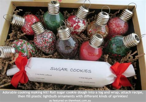 sugar cookie kit cute gift idea christmas crafts