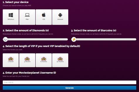 moviestarplanet hack tool free vip diamonds starcoins moviestarplanet hack free diamonds starcoins and vip