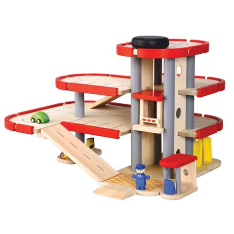 Plan Toys Garage by Plan Toys Wooden Parking Garage Woodworking Projects