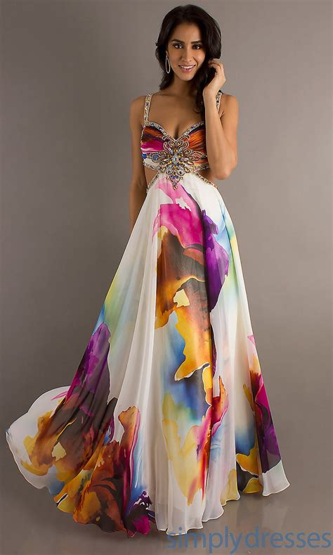 Id Print Dress view dress detail dj 8713