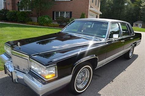 how to learn about cars 1992 cadillac brougham interior lighting purchase used 1992 cadillac brougham 5 7l 1k orig miles quot collector quality quot in rowley