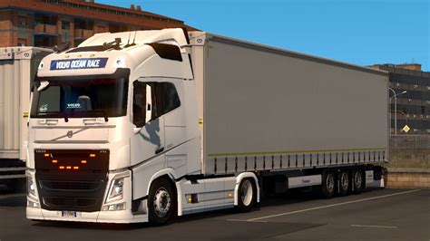 deck chassis addon  eugene volvo fh  sogard ets  mod  youtube