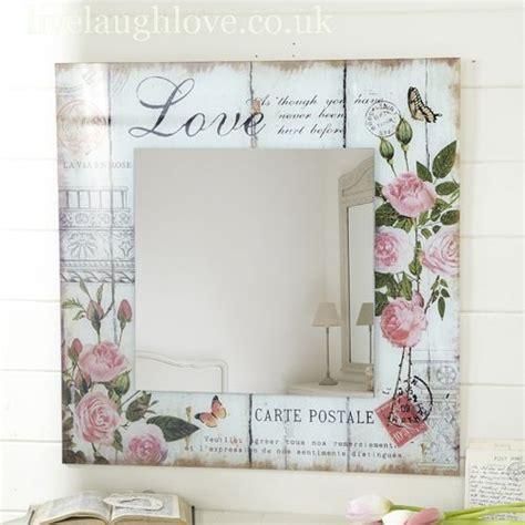 Decoupage Frames Ideas - las 25 mejores ideas sobre espejos decorados en