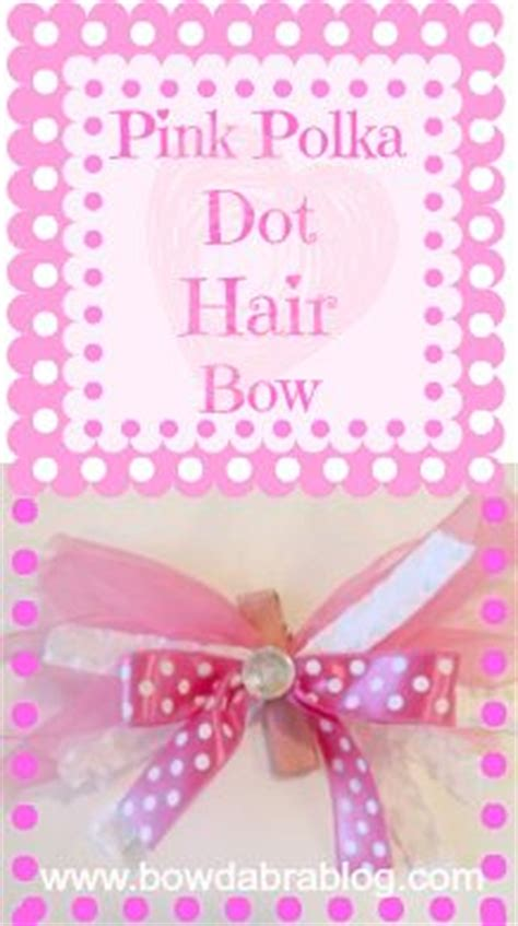 Od Kid Ribbon 2 Polka Pink 1000 images about bow ribbon ideas on hair