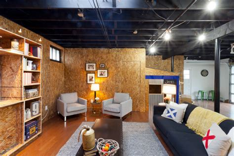 Decorating Home Ideas On A Budget by Dillon Industrial Basement New York By