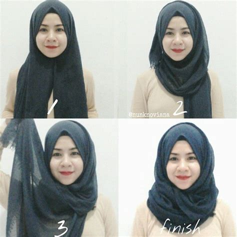 tutorial hijab zoya simple 4 steps simple basic everyday hijab tutorial kopft 252 cher