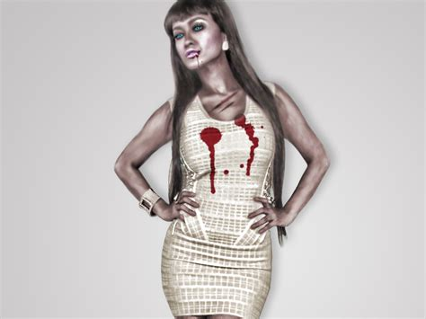 hot zombie girl wallpaper scary wallpaper sexy zombie scary wallpapers