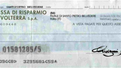 assegno smarrito dalla per non pagare l assegno ne denuncia lo smarrimento